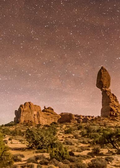 Arches Balanced Rock Stars Art | Michael Blanchard Inspirational Photography - Crossroads Gallery