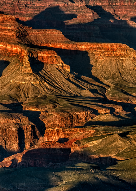 Grand Canyon Shadows, 2019. Photography Art | Tom Stahl Photography