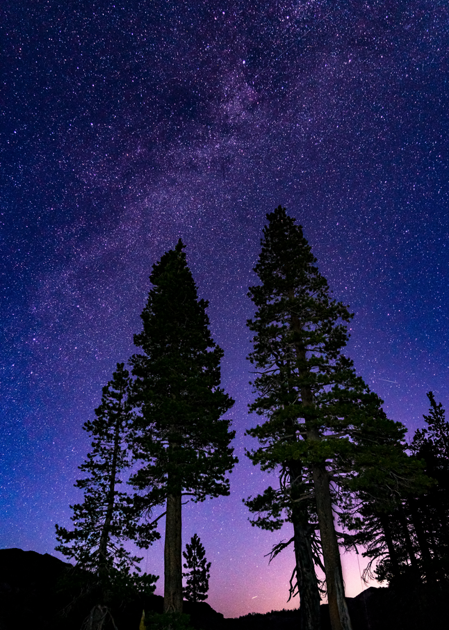 Milky Way, Tahoe National Forest, 2019. Photography Art | Tom Stahl Photography