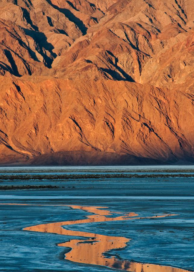 Salt Flat Sunrise, Death Valley, 2009. Photography Art | Tom Stahl Photography