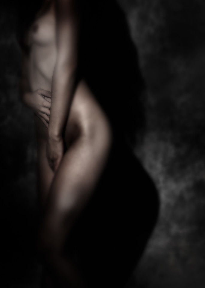 Chloe Dark Figure Photography Art | Dan Katz, Inc.
