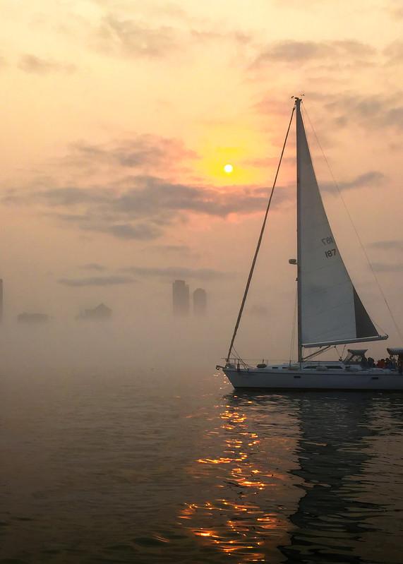 Foggy Sunset Art | Mark Stall IMAGES