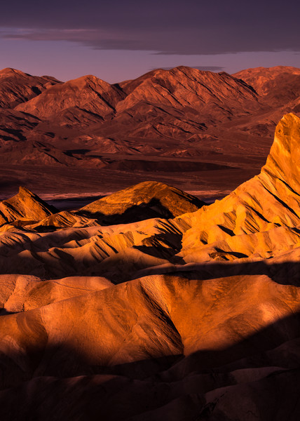 Manly Beacon Morning - Death Valley