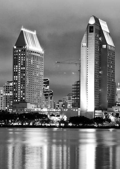 San Diego City Lights Photography Art | Rosanne Nitti Fine Arts