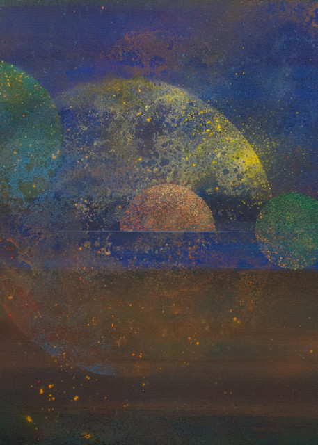 Etic Landscape #4  - Giclee reproduction of abstract  art by David Copson