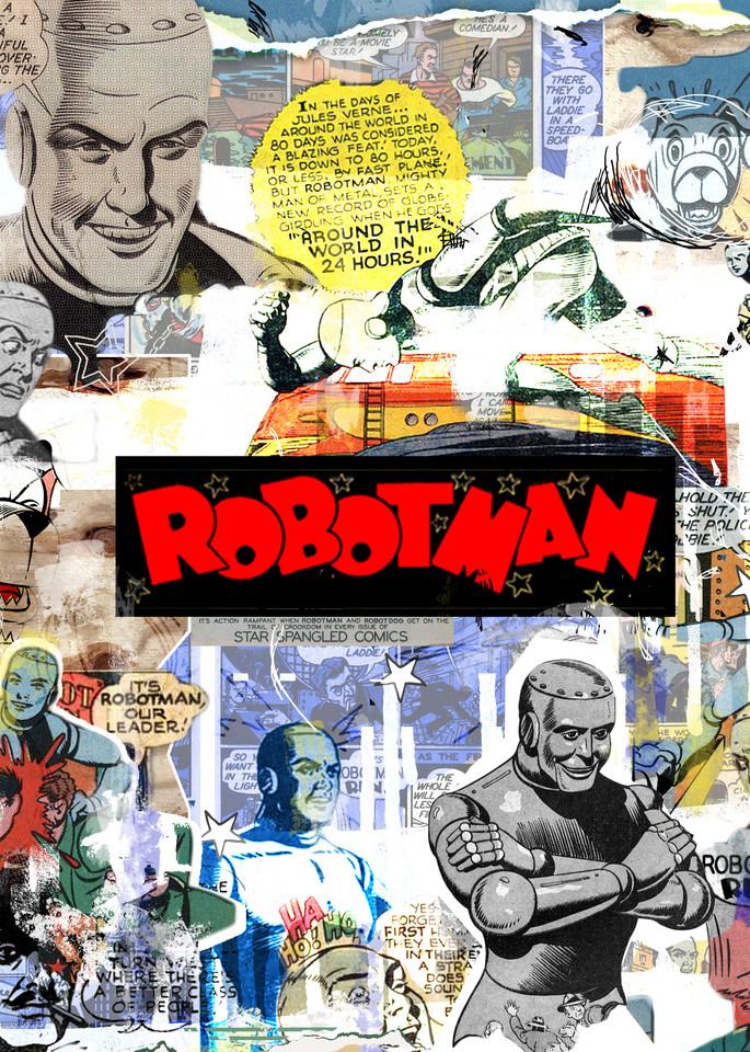 robotman, golden age DC comics, All-Star Squadron.