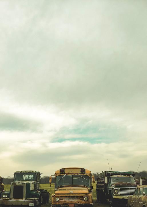 Junk In A Row Art | John Knell: Art. Photo. Design