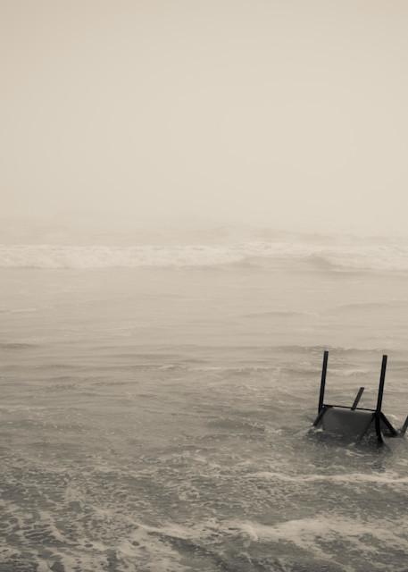 Chair Washed Ashore Photography Art | Dan Katz, Inc.