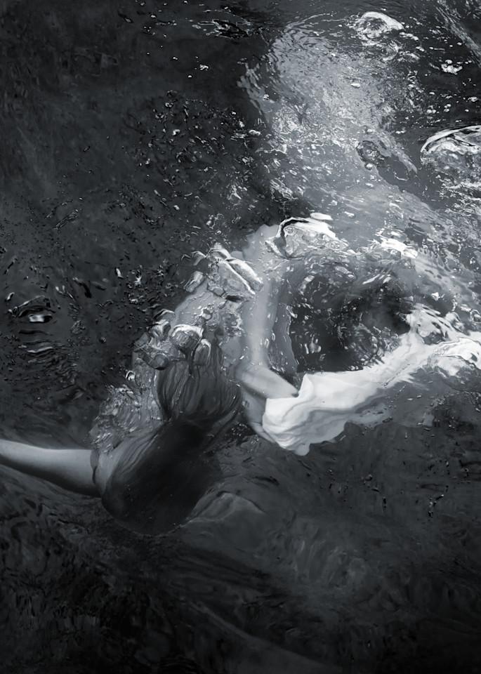 Becca Dive Bw Photography Art | Dan Katz, Inc.