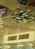Fish Sculpture, Splash Restaurant, Santa Cruz Municipal Pier, Santa Cruz, CA