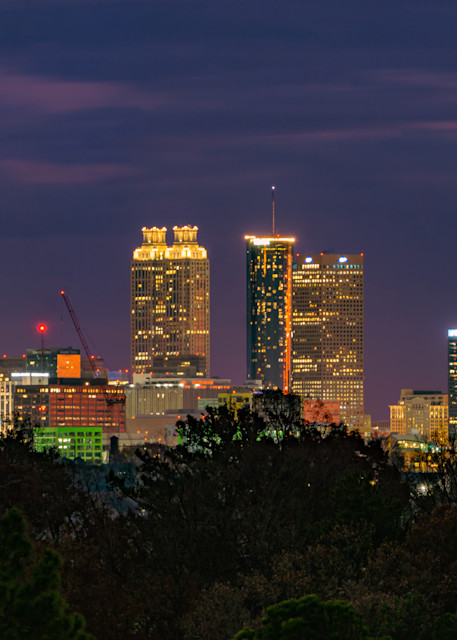 Susan J Photography | Fine-Art Print [City in the Trees]