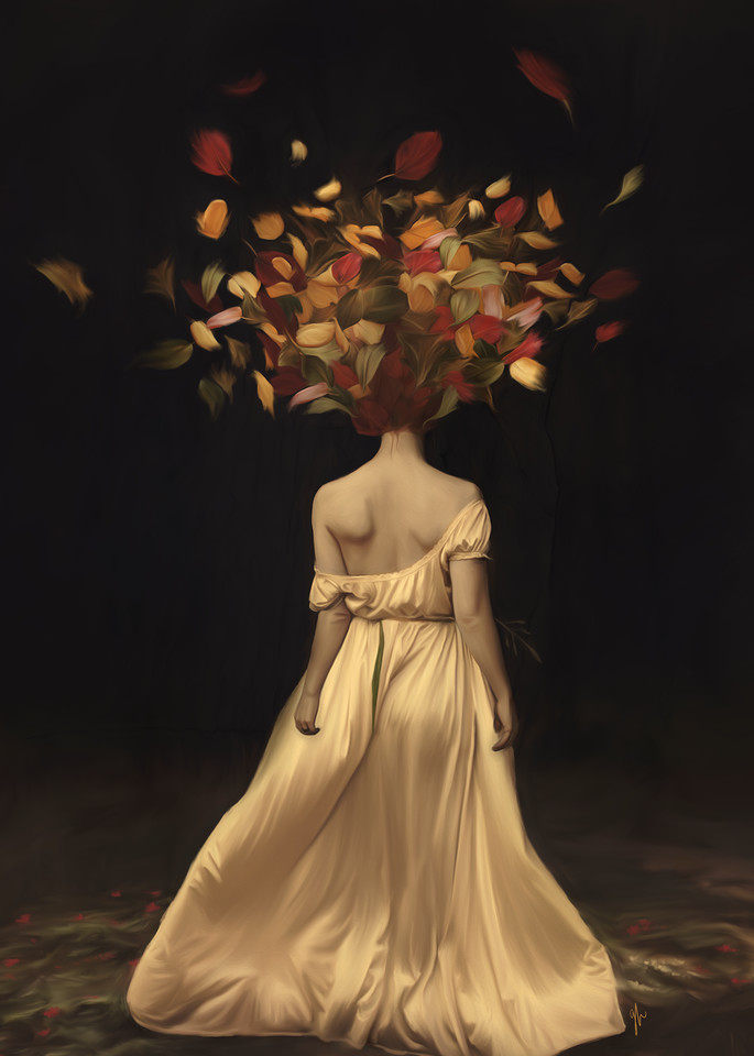 Autumn Explosion Art | De'Ago Art