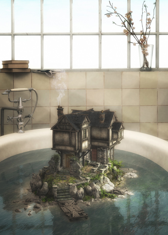 The Bath   Cynthia Decker