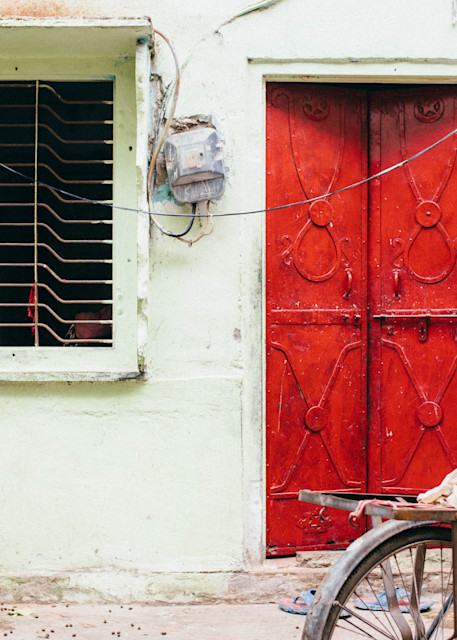 Jaipur Red Photography Art | Kirby Trapolino Fine Art Photography