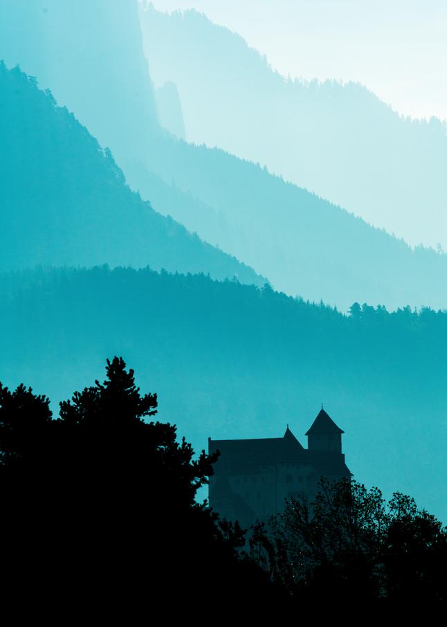 Vaduz Castle Tones Photography Art | Craig Primas Photography