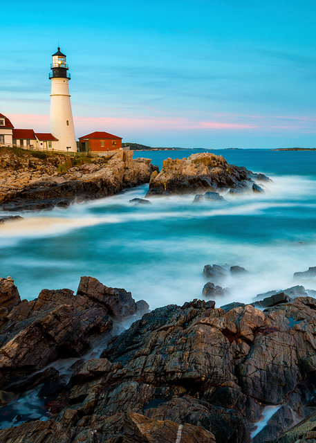 Cape Elizabeth Light Picnic Photography Art   Craig Primas Photography