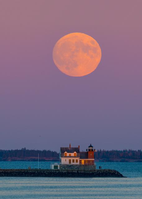 Rockland Harvest Moon Photography Art   Craig Primas Photography