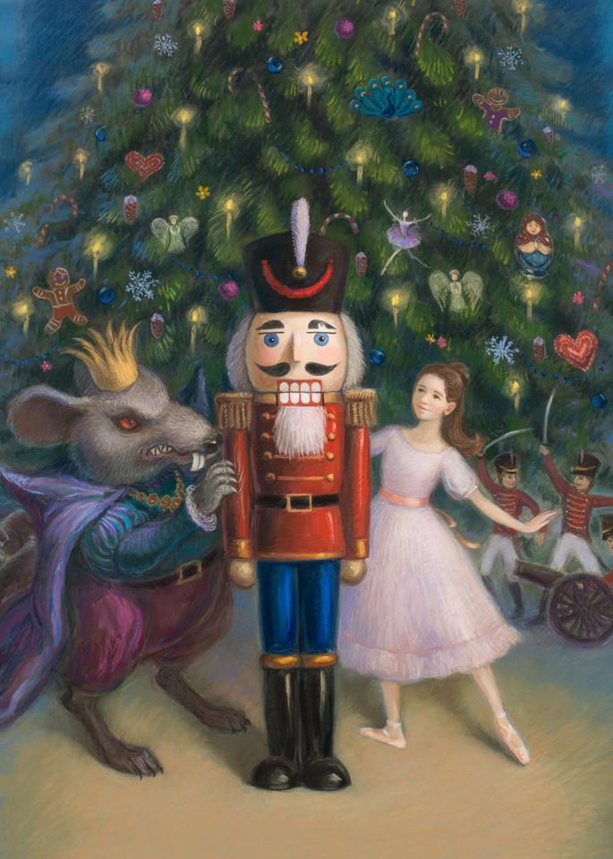 The Nutcracker Ballet Art Print