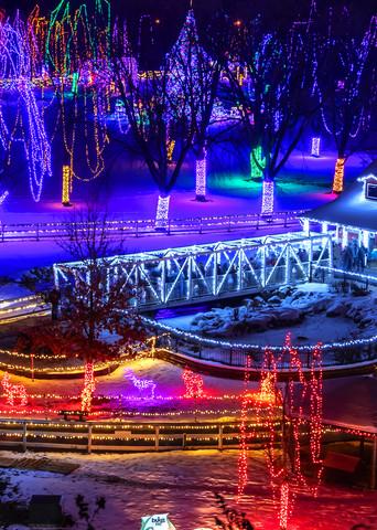 Kiwanis Holiday Lights Mankato - Christmas Season Art | William Drew