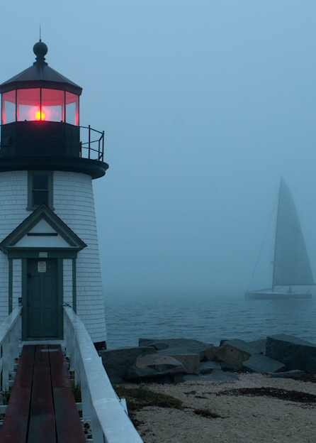 Sail In The Fog Photography Art | Kit Noble Photography