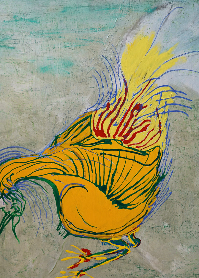 Chicken Scratch Art | Pam White Art