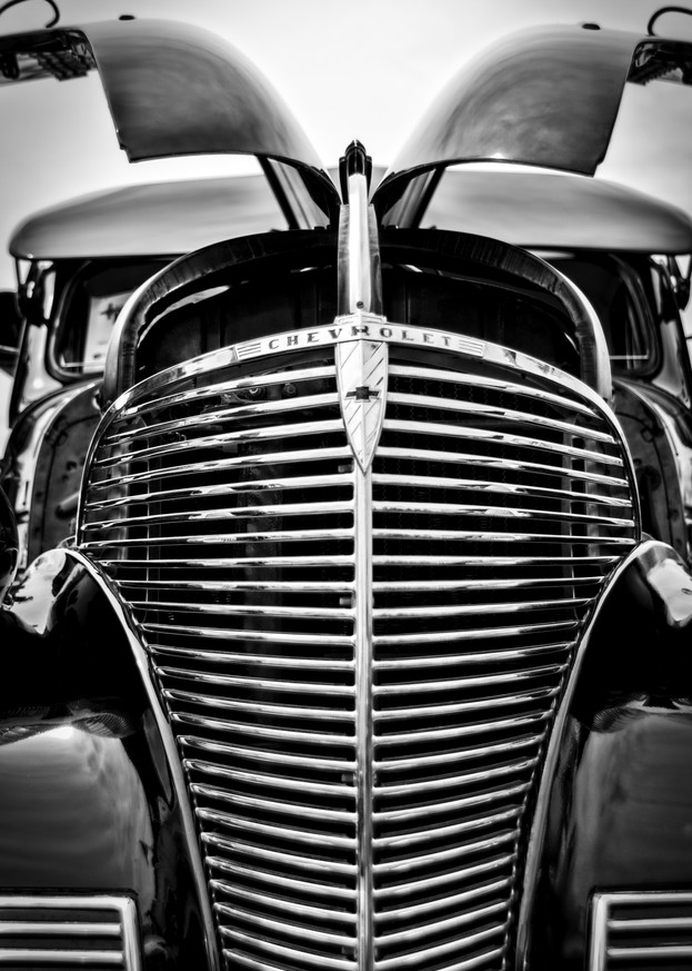 Chevy Grill Photography Art | Kathleen Messmer Photography