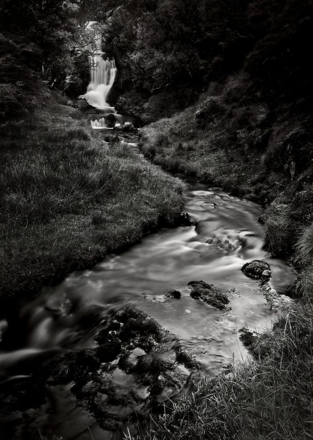 Waterfall Near Ardvreck Castle, Loch Asynt, Sutherland, Scotland