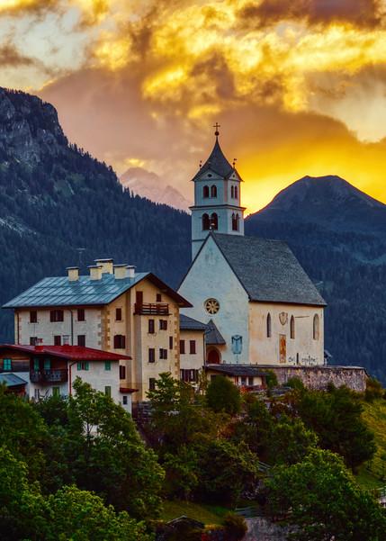 A Cf003329 Dolomites Wed. Pano Element Photography Art | RaberEYES
