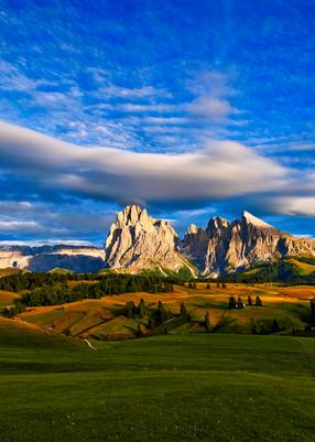 B Mountain Wide Angle Pano Good Lum Photography Art | RaberEYES