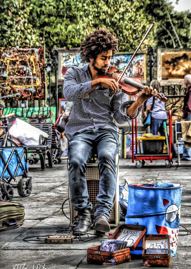 Musician Jackson Square