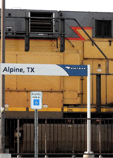 Alpine Train Photography Art | Galeria Mañana