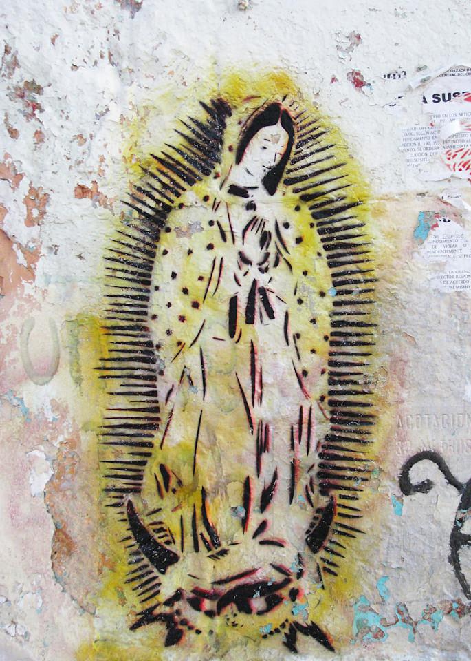Virgen Amarillo Photography Art | Galeria Mañana