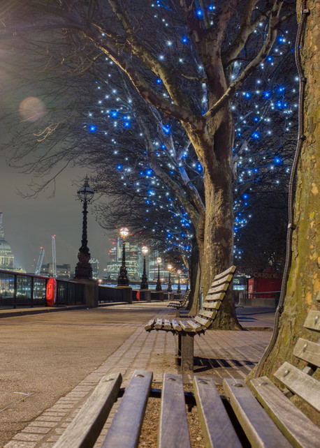 Winter Lights On The South Bank Art | Martin Geddes Photography