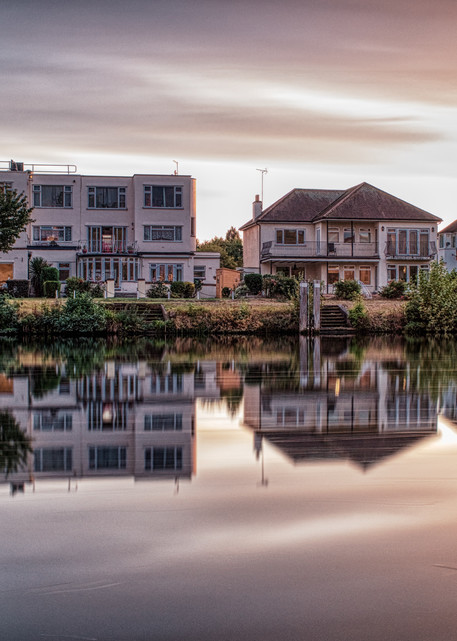 Evening In Staines Upon Thames Art | Martin Geddes Photography