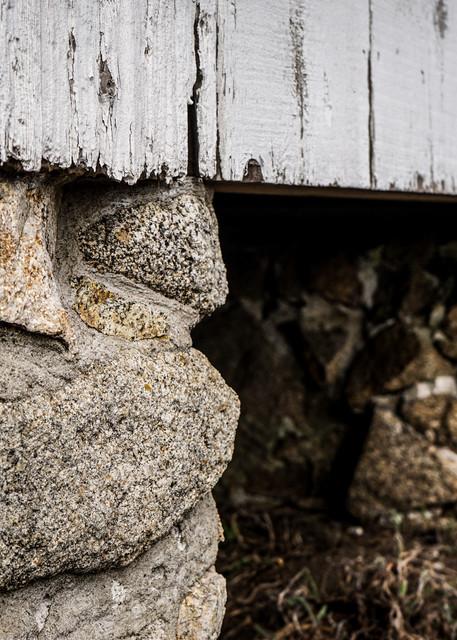 Foundation - California old barn architecture photograph print
