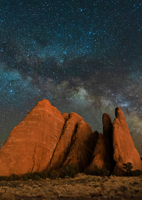 Fins and Stars Arches National Park