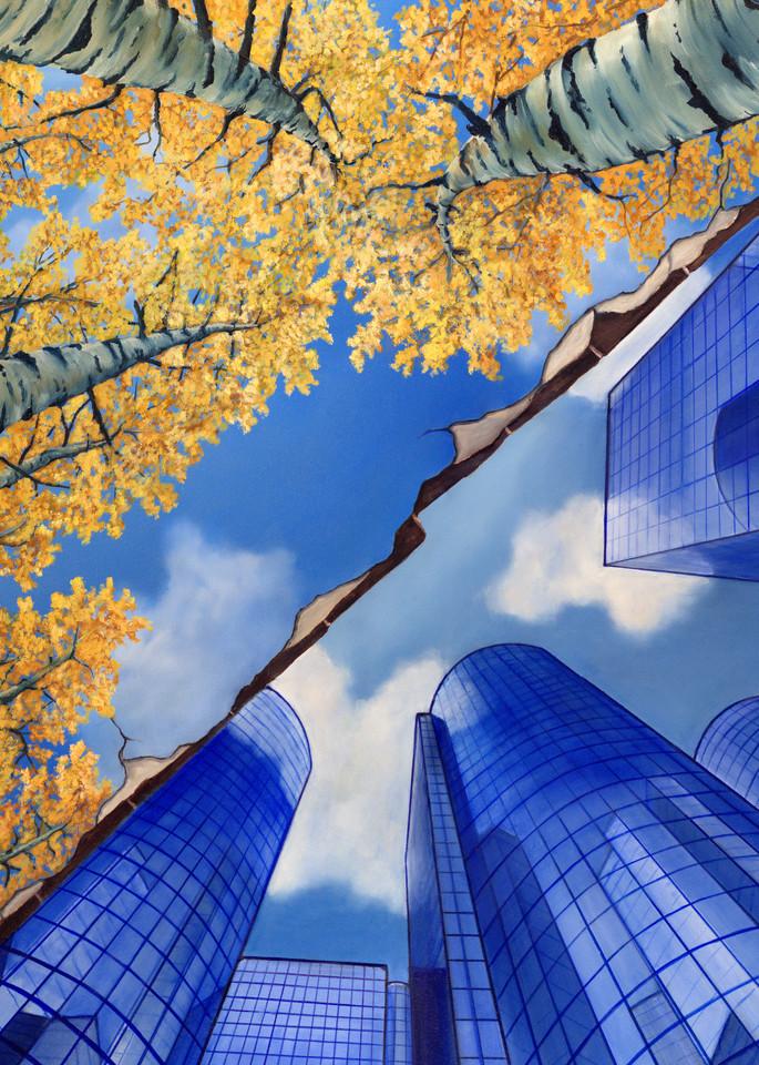 Daydream Skyward Art | MMG Art Studio | Fine Art Colorado Gallery