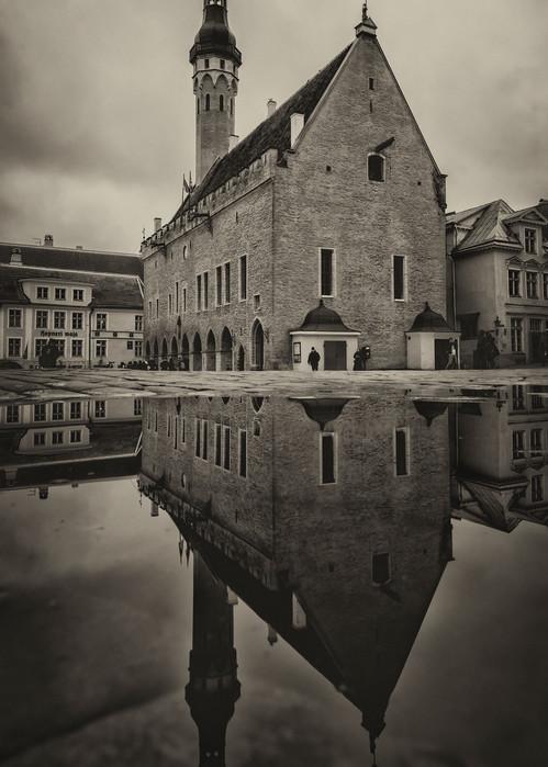 Gothic, Tallinn, Estonia, Town hall
