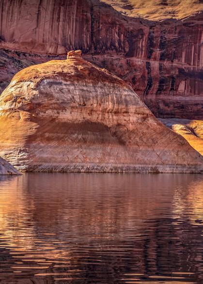 Lake Powell Clear Creek Reflections, d'Ellis Photographic Art photographs, Elsa