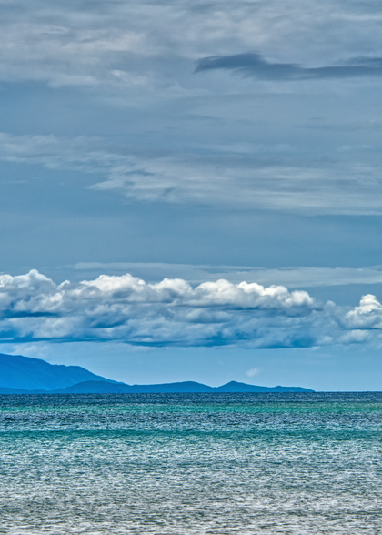 Heading out to sea, Nosy Sakatia, Madagascar