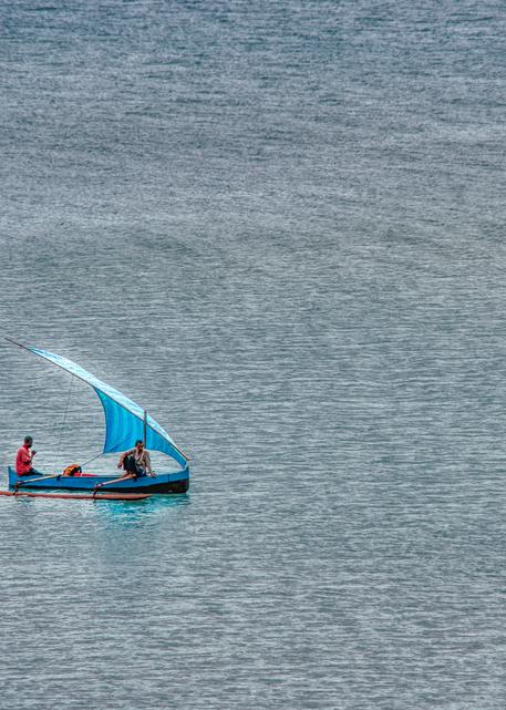 Pirogue on Antsiranana Bay
