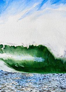 Winter Wave Art | CruzArtz Fine Arts
