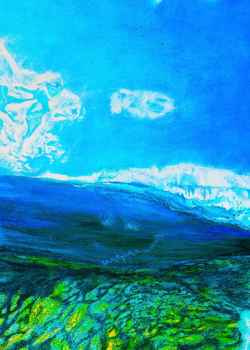 Reef Break  Art   CruzArtz Fine Arts