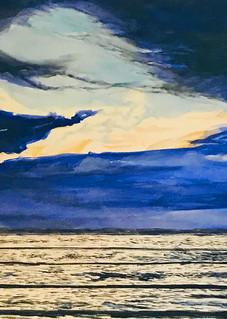 Sunset Wave In Kauai  Art   CruzArtz Fine Arts