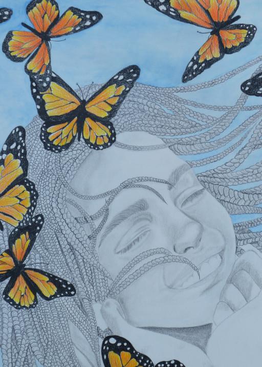 Flight Of The Monarch Art   InspiringLee