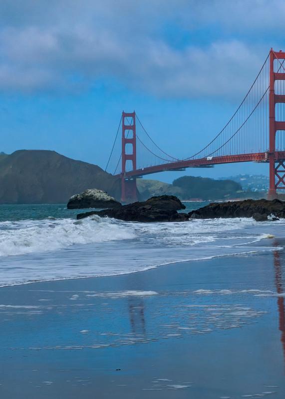 Golden Gate Reflection Photography Art | FocusPro Services, Inc.