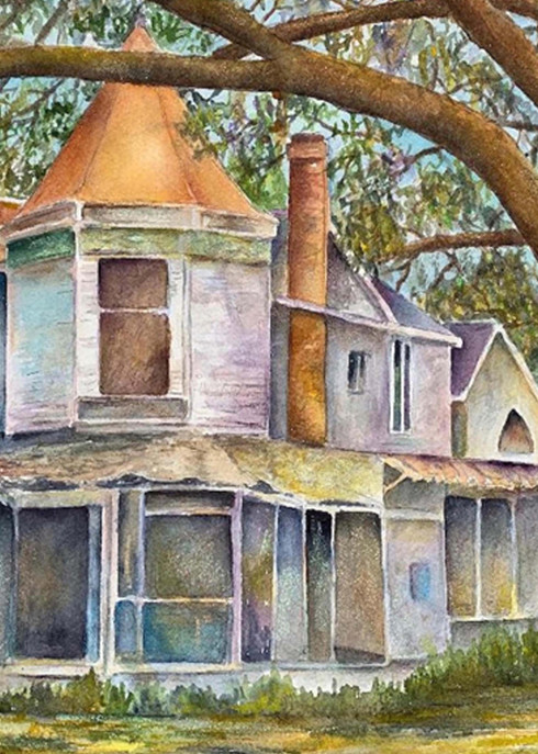Green Gables, From an Original Watercolor Painting