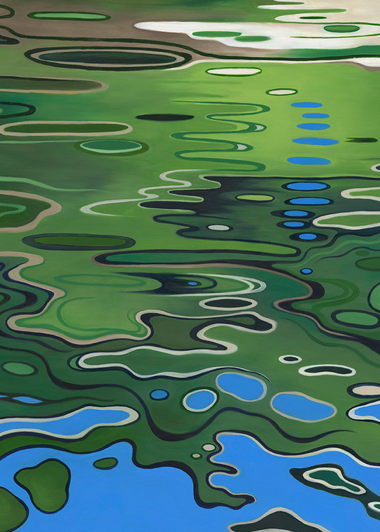 Bayou Reflections 2 Art | Margaret Biggs Fine Art