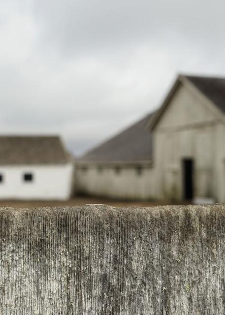 Just Beyond - California coast old barn architecture landscape photograph print