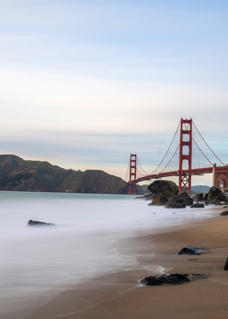 Golden Gate and Marshall's Beach - Golden Gate Pictures   William Drew